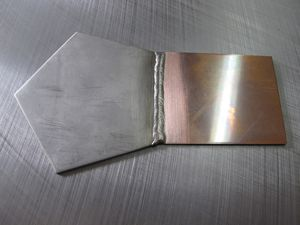 Micro-welding of Copper and Stainless-Steel