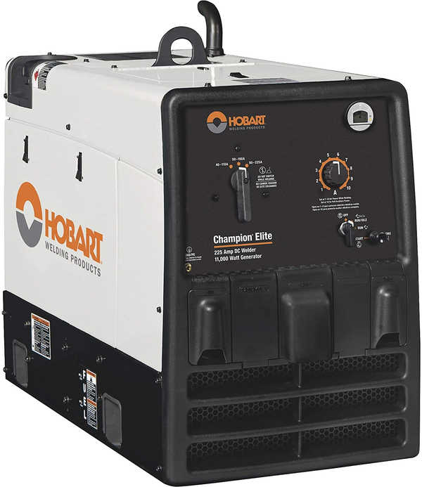 Hobart Champion Elite Engine Driven Welder, Weldinginfocenter