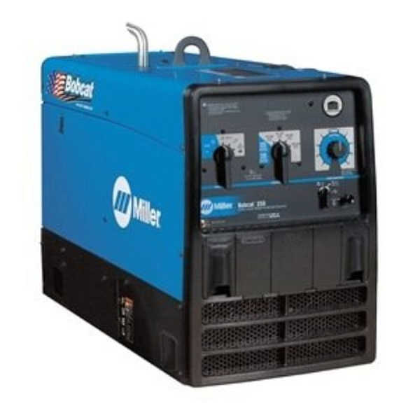 Miller Bobcat 250 Engine Driven Welder, Weldinginfocenter