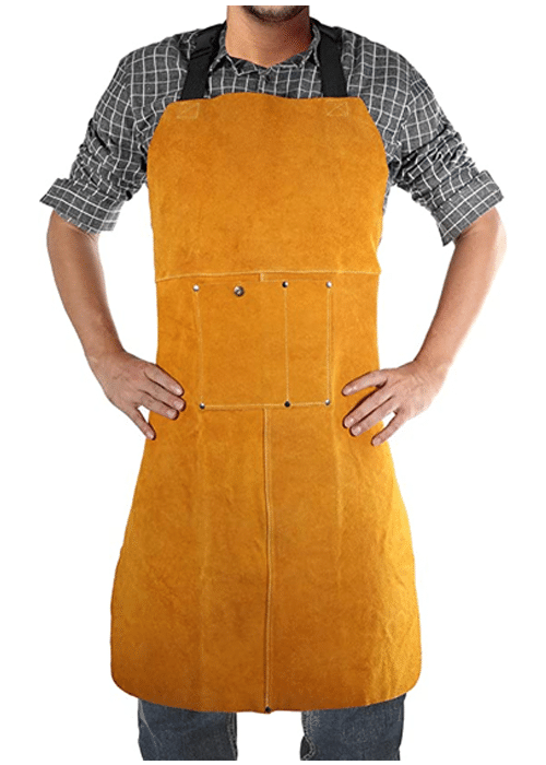 Safety Shop Leather Welding Apron