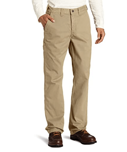 Carhartt Men's Rugged Relaxed Fit Work Khaki Pant