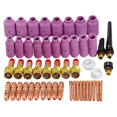 TIG Gas Lens Collet Body Consumables Kit