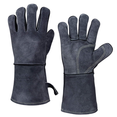 Heat Resistant Leather Forge Welding Gloves